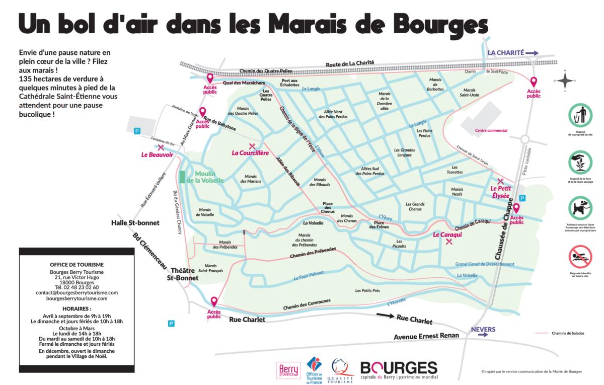 Plan des Marais