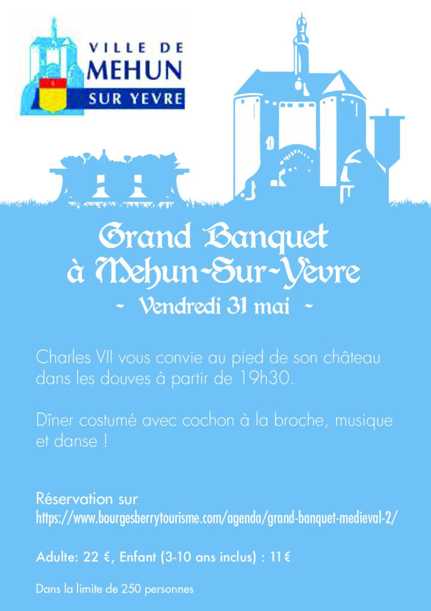 Grand banquet Mehun
