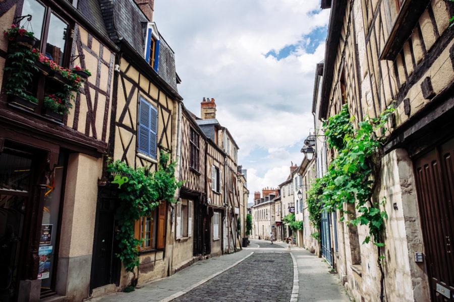 Le centre historique de Bourges, capitale du Berry