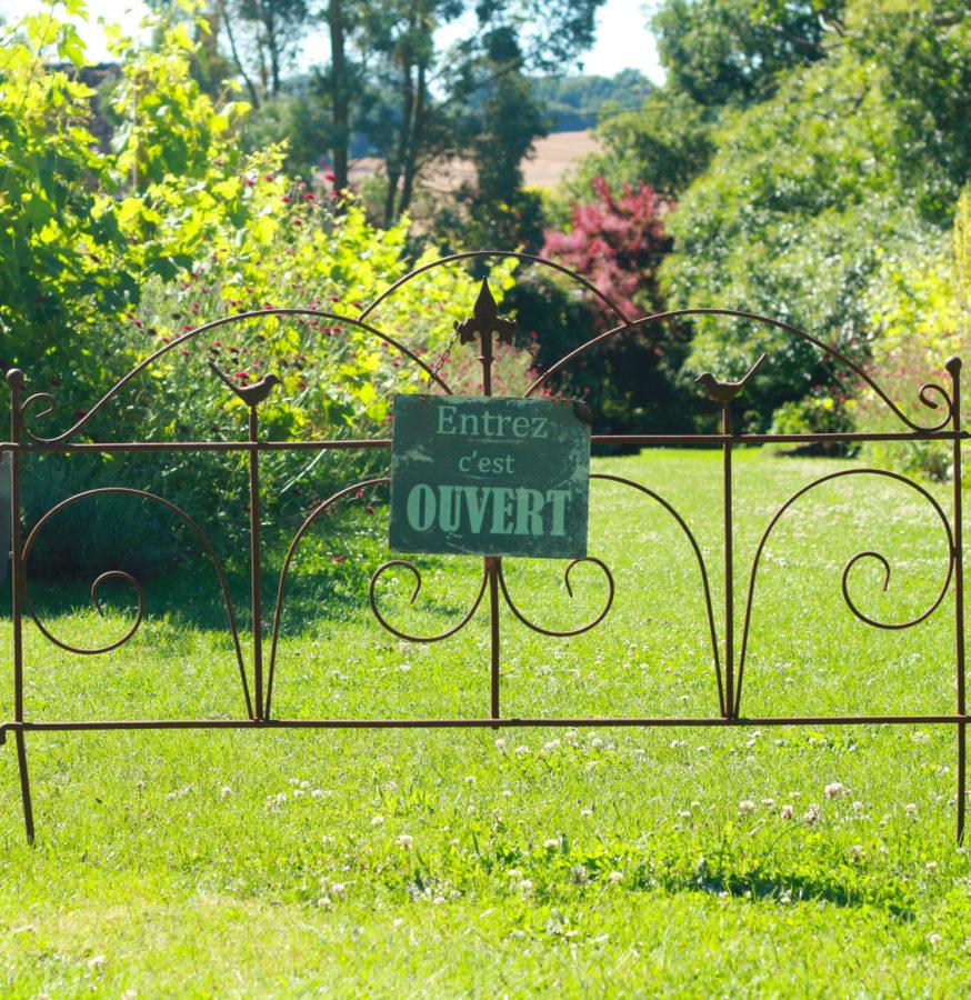 Visiter les jardins