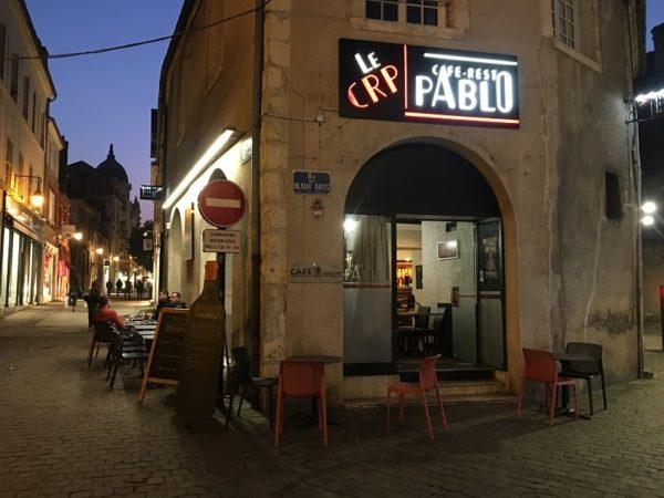 Le CRP (Café Resto Pablo)