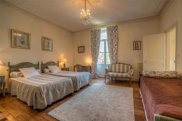 Chambre familiale «Camille Claudel» à l'Oustal