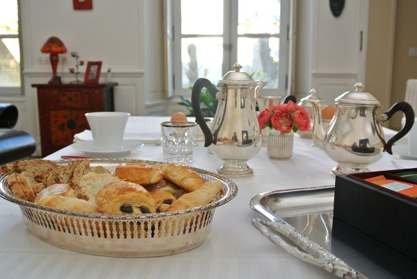 Maison Colladon Le petit déjeuner