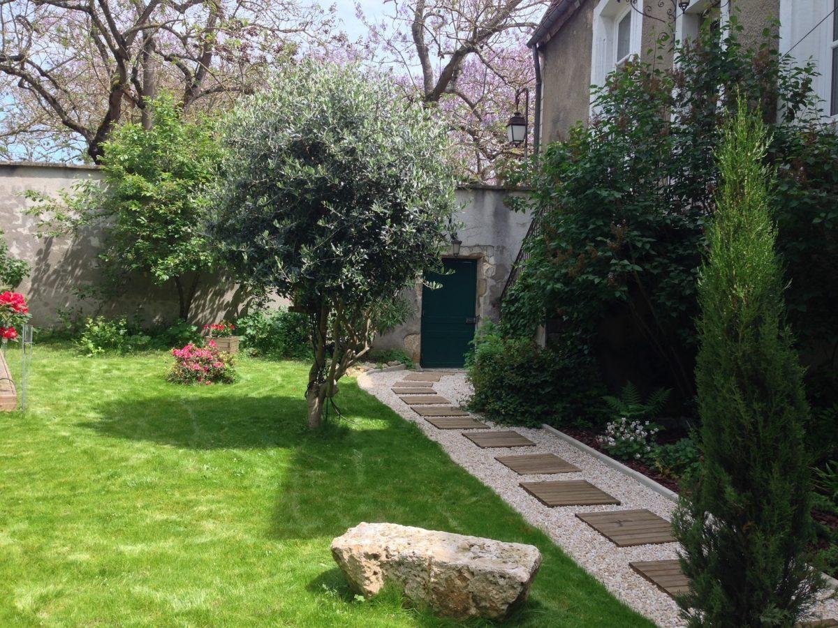 Maison Colladon Le jardin